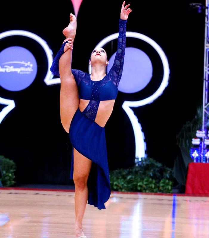 School dance solo dancer competition Contest of Champions Disney World